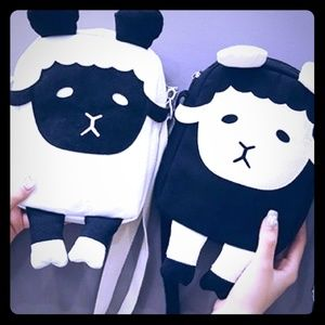 Children's Lamb/Sheep Canvas bag/ purse